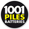 logo 1001 Piles Batteries png
